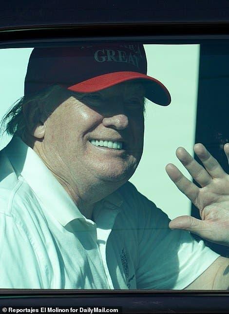 ترامپ در فلوریدا است
