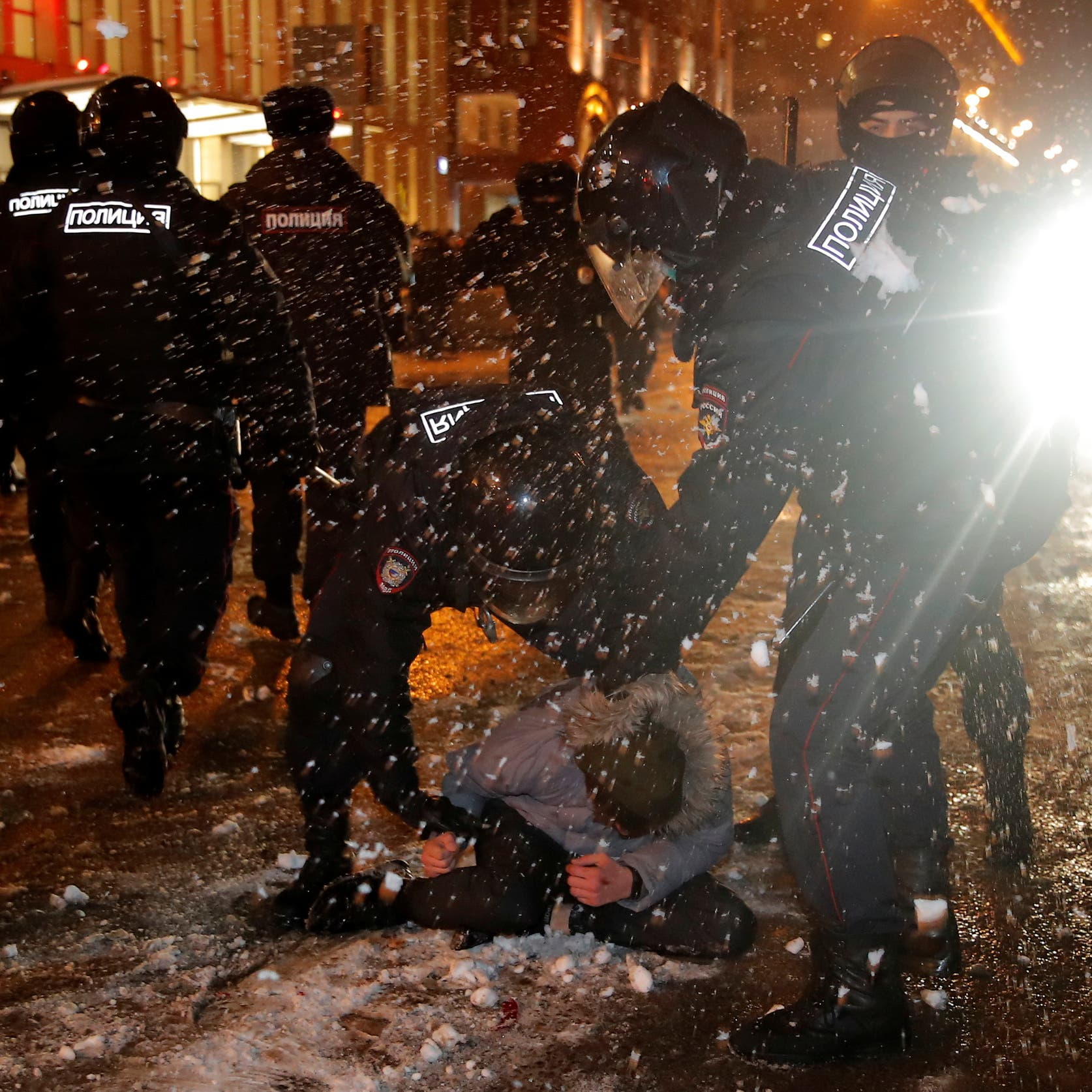 موسكو تتهم واشنطن بالتدخل إثر التظاهرات المؤيدة لنافالني