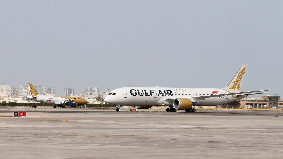 Gulf Air's first Boeing 787-9 Dreamliner arrives at Bahrain International Airport in Muharraq, Bahrain April 27, 2018. (Reuters/Hamad I Mohammed)