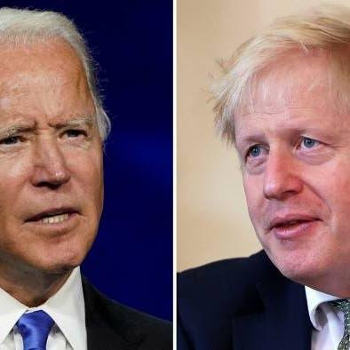جونسون وبايدن يتفقان على عقد قمة افتراضية لمجموعة الـ 7 حول أفغانستان