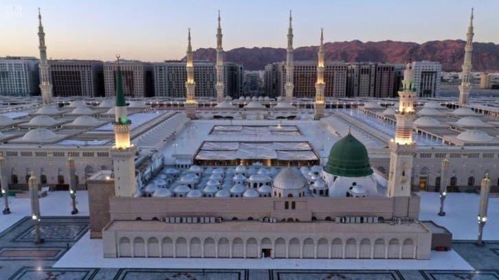 مسجد نبوی : 27 ویں اور 29 ویں شب میں نمازیوں کے استقبال کی تیاریاں مکمل