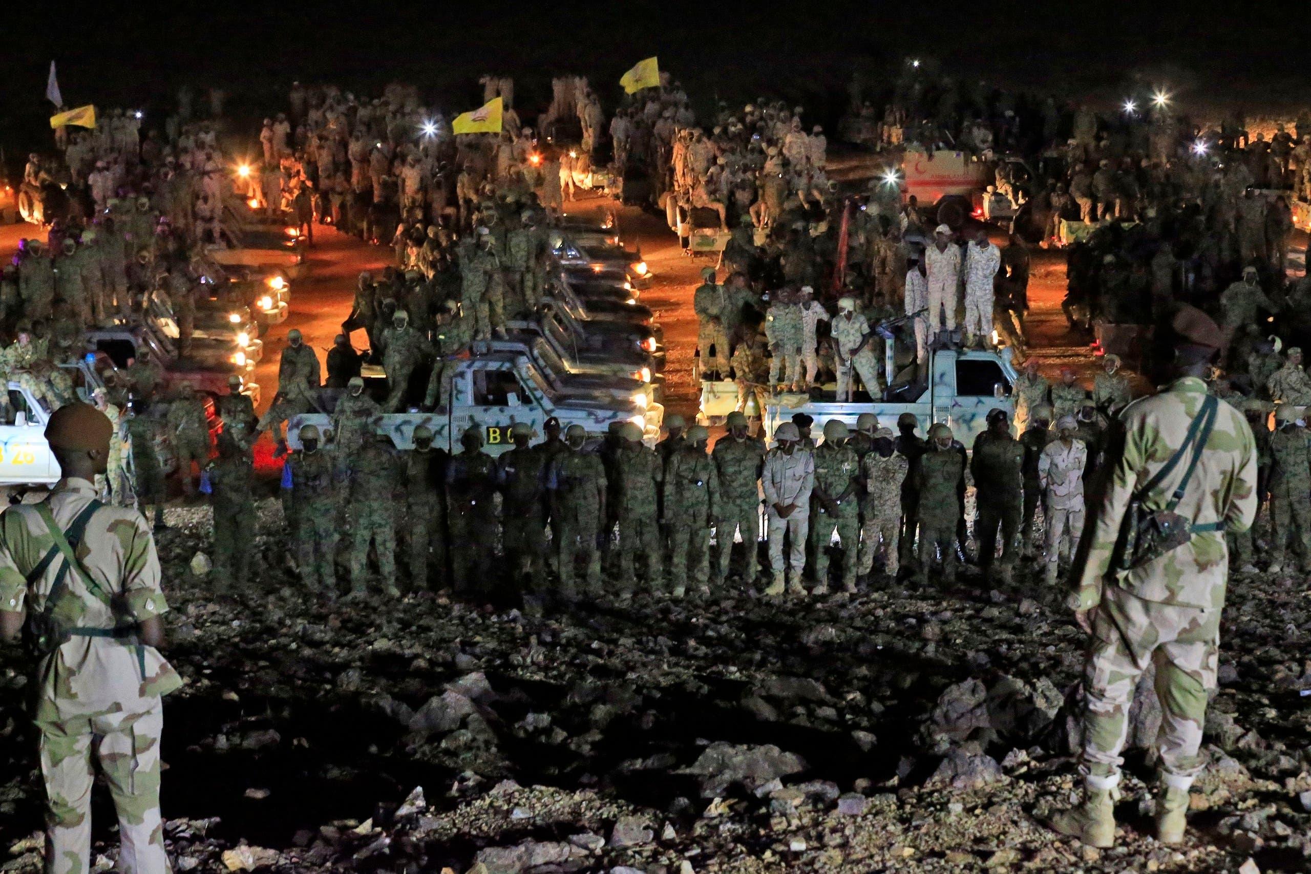 عناصر من الجيش السوداني (أرشيفية)