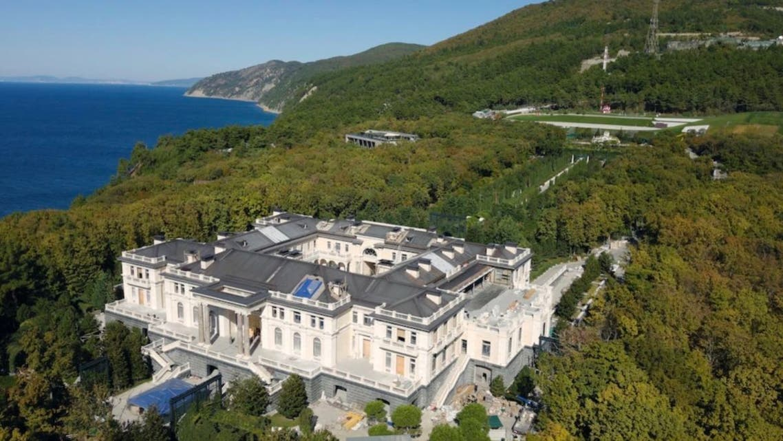 putin palace قصر بوتين