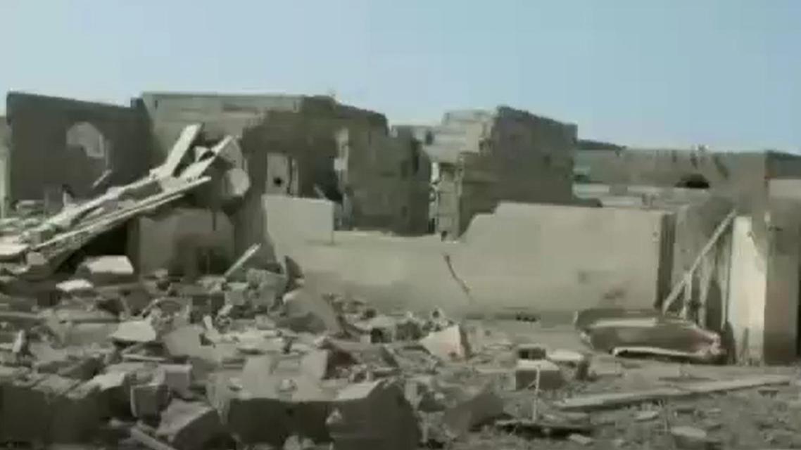 الدمار إثر
