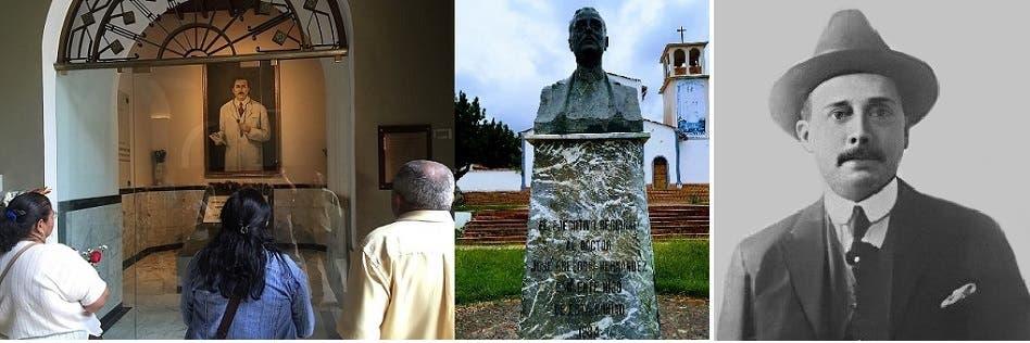 للدكتور القتيل بالدهس، خوسيه غريغوريو إرناندس، تماثيل تكريمية منصوبة في أماكن عدة بفنزويلا، ودفنوه داخل كنيسة