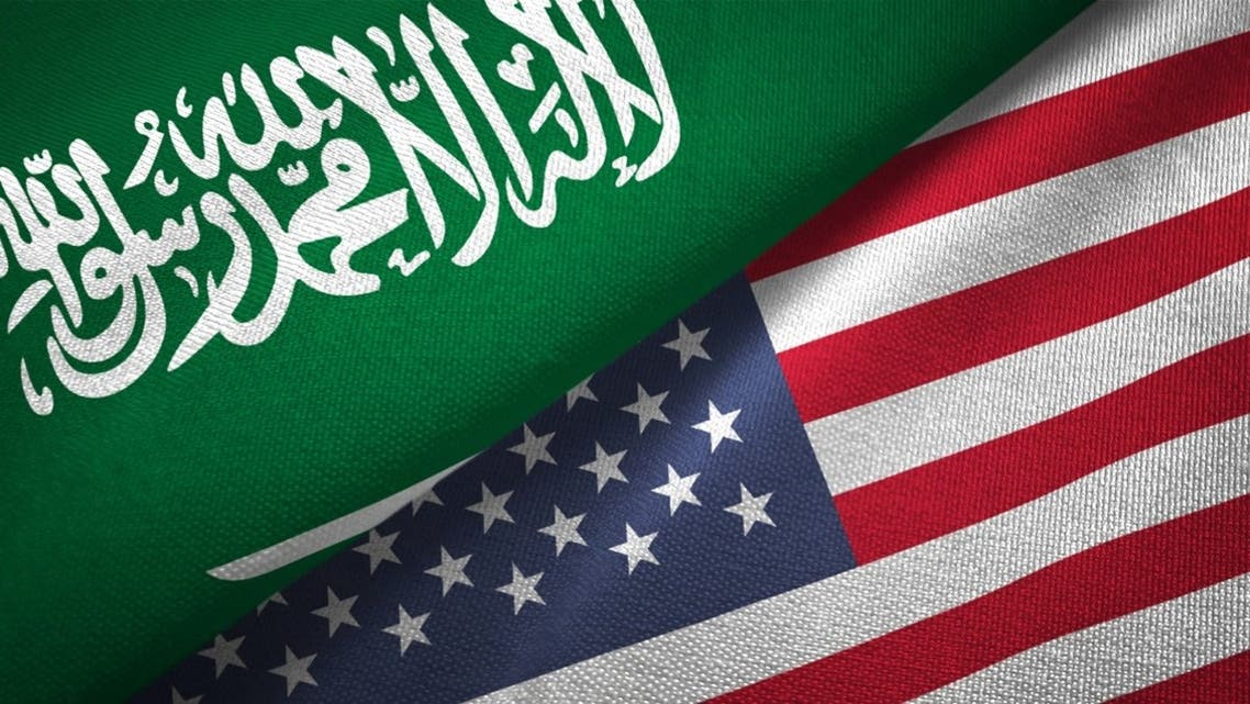 iStock US Saudi flags