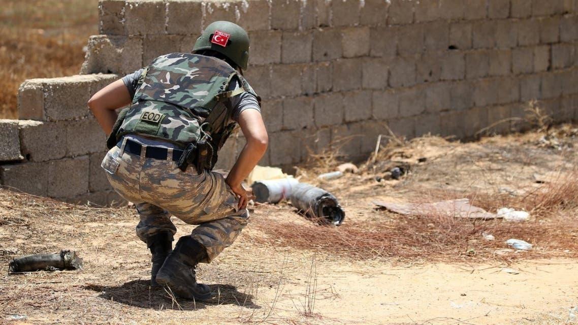 قوات تركية في ليبيا