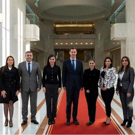 للمرة الثانية.. لقاءات غامضة للأسد من داخل قصره
