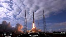 """""""سبايس إكس"""" ترسل عدداً قياسيا من الأقمار الاصطناعية للفضاء"""