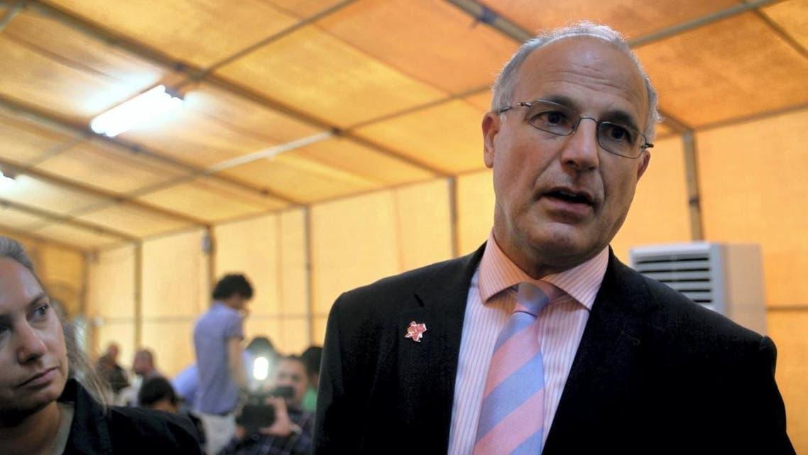 السفير البريطاني باليمن مايكل آرون