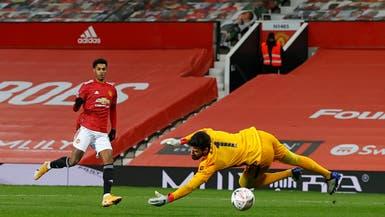 فحص ركبة راشفورد بعد الفوز على ليفربول