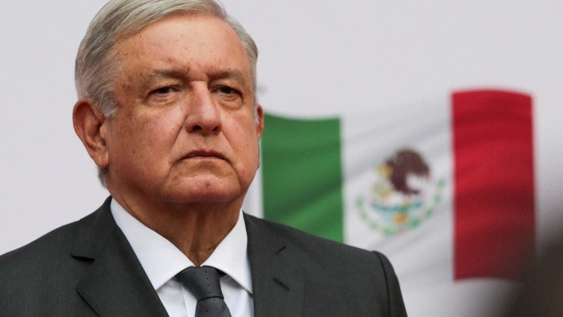 Mexico's President Lopez Obrador addresses to the nation on his second anniversary as President. (Reuters)