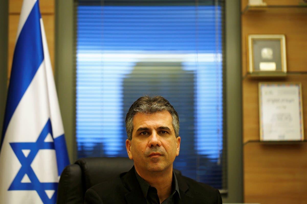 Israeli Intelligence Minister Eli Cohen. (Reuters)