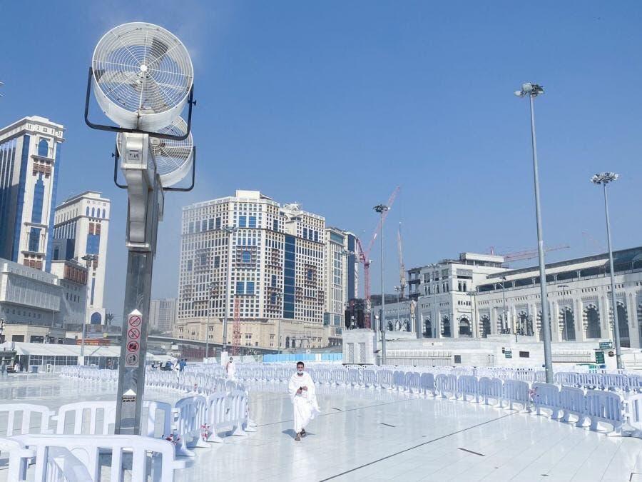 تشجير المسجد الحرام