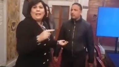 تونس.. حليف الغنوشي يعتدي على نائبة داخل البرلمان