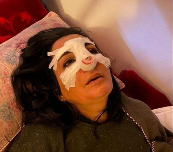 الناشطة العراقية أميرة الجابر