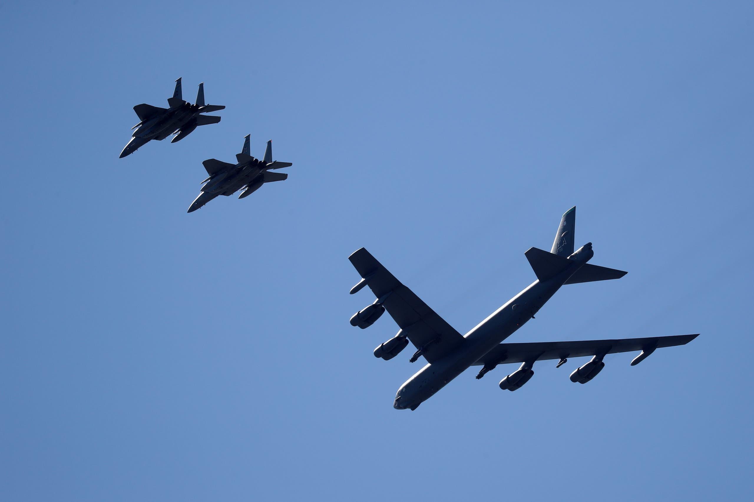 بمب افکن آمریکایی B-52 (بایگانی - فرانس پرس)
