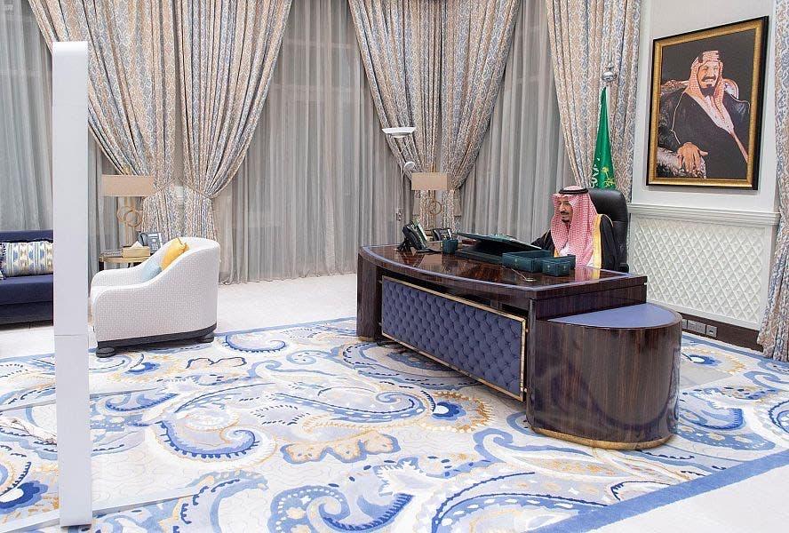 ملک سلمان بن عبدالعزیز در جلسه شورای وزیران عربستان سعودی