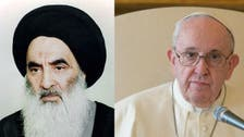 البابا فرنسيس يلتقي السيستاني خلال زيارته إلى العراق