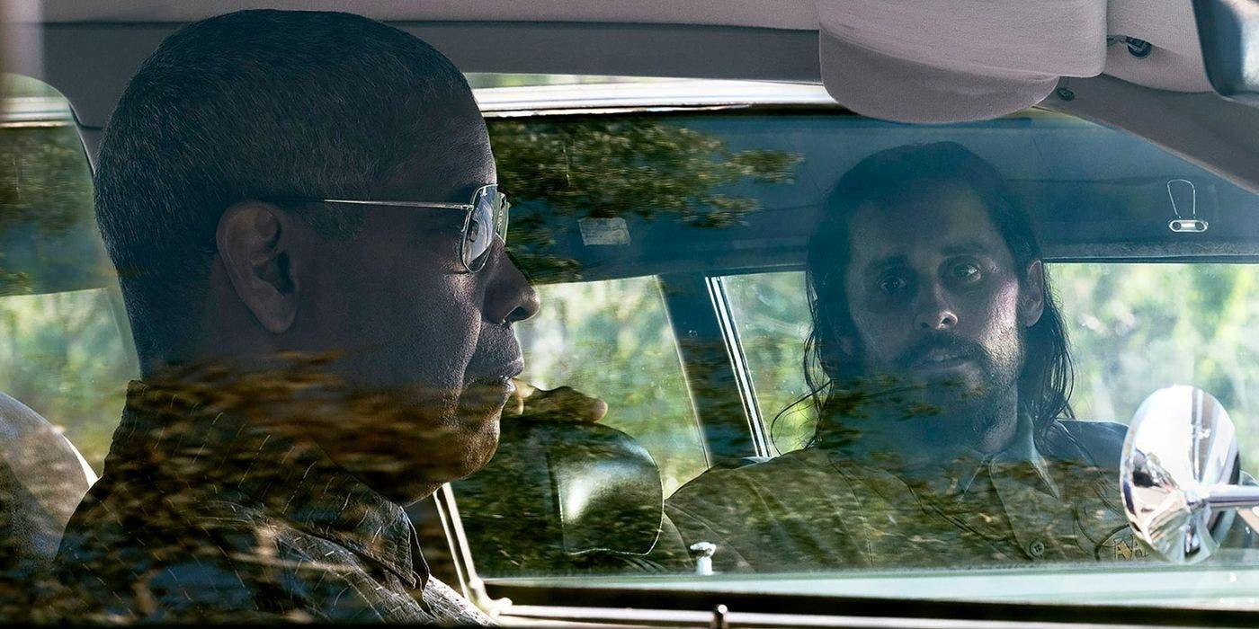 جاريد ليتو مع دينزيل واشنطن في أحد مشاهد الفيلم