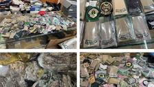 سعودی عرب میں غیر قانونی طور پر فوجی وردی اور میڈلز فروخت کرنے والوں کے خلاف کارروائی