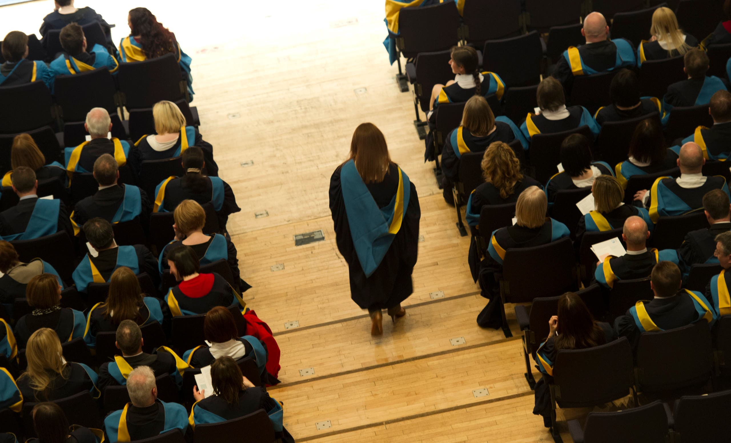 The Open University graduation. (Supplied by The Open University)