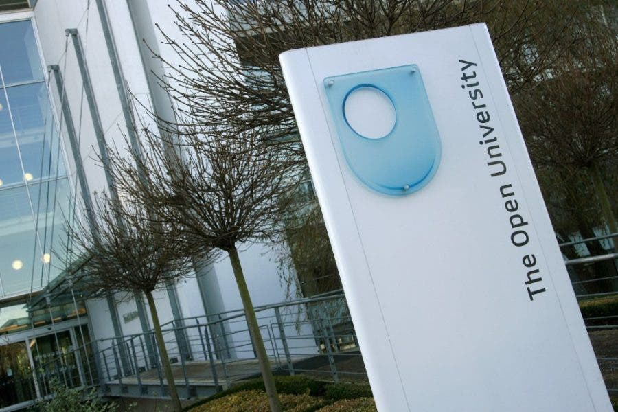 The Open University, Berrill Building. (Supplied by The Open University)