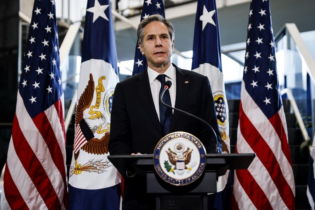 وزیر خارجه آمریکا آنتونی بلینکن