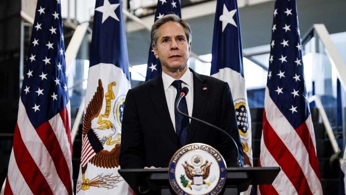 وزير الخارجية الأميركية أنتوني بلينكن