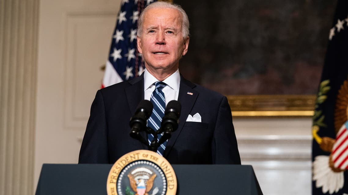 US President Joe Biden in the White House. (AFP)