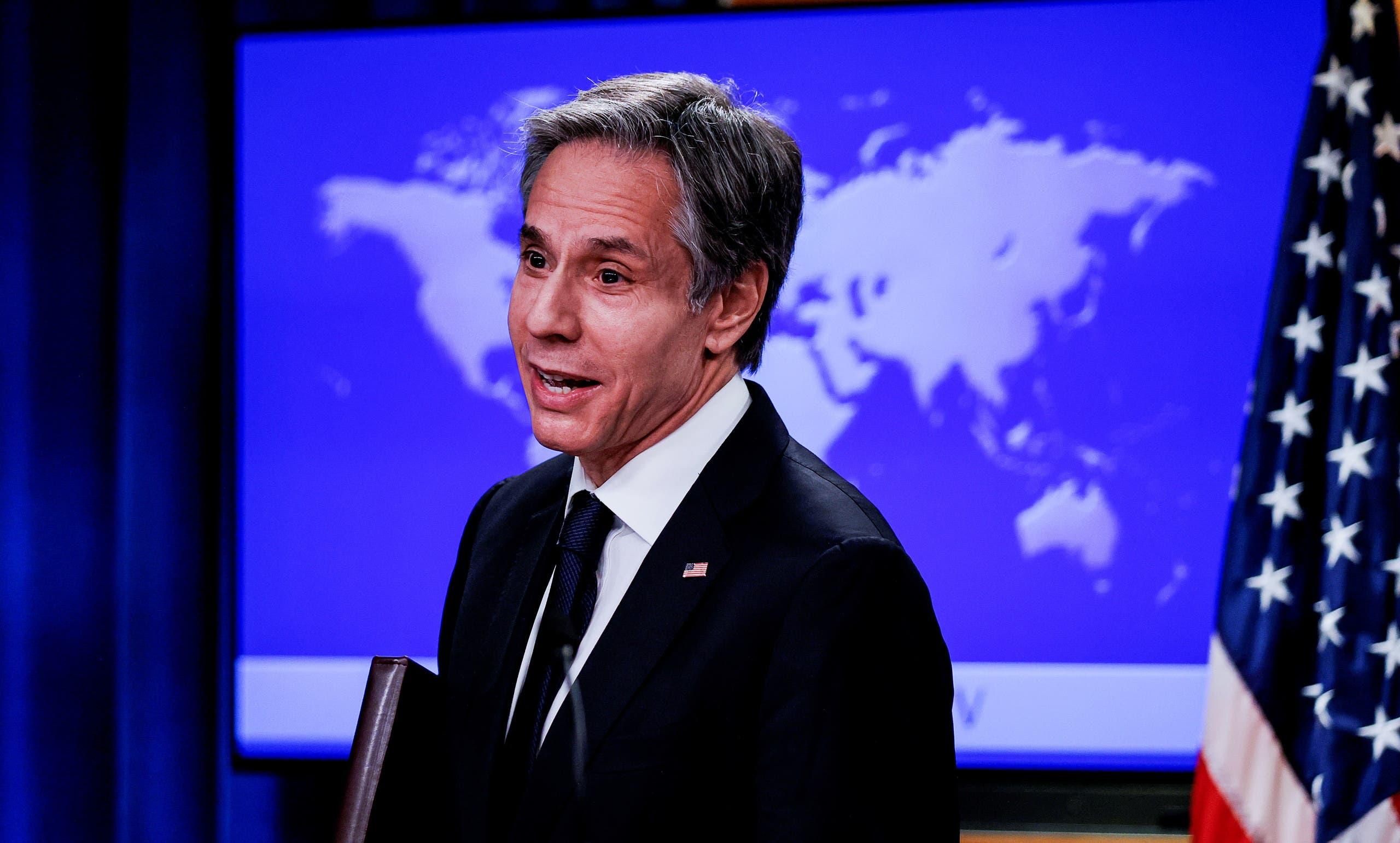 وزير الخارجية الأميركي انتوني بلينكن