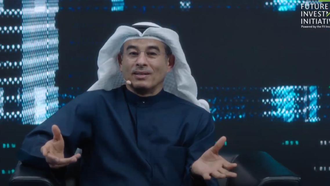 H.E Mohammed Ali Rashed Alabbar, Board of Trustees member, FII institute and Founder of the UAE's Emaar properties PJSC speaks at FII Summit 2021. (Screengrab)