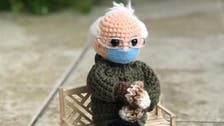 Crochet Bernie Sanders doll sells for over $40,000 after meme goes viral