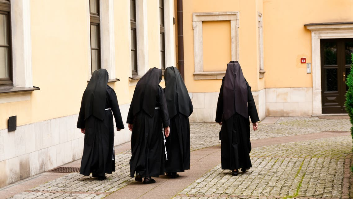 Nuns walk together at a convent. (File Photo: iStock)