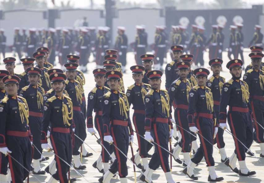 Pakistan Army Chief and Head of Qatar meeting