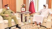 آرمی چیف کی امیر قطر سے ملاقات، باہمی دلچسپی کے امور پر بات چیت