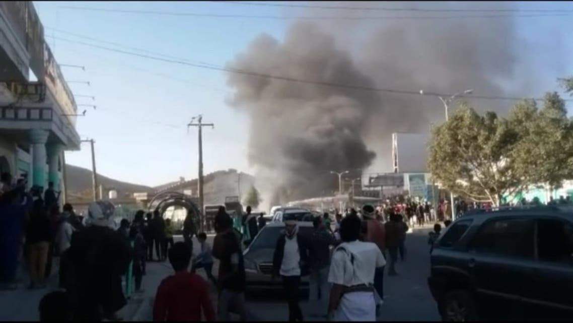 Explosion rips through gas station in Yemen's al-Bayda city: Local sources