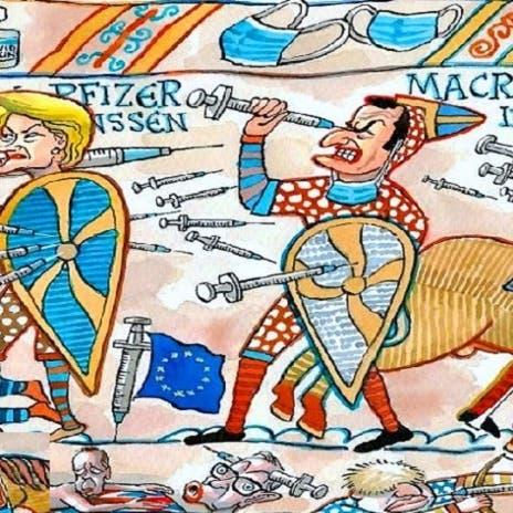 حروب العصور الوسطى تعود لأوروبا بسلاح الإبر واللقاحات