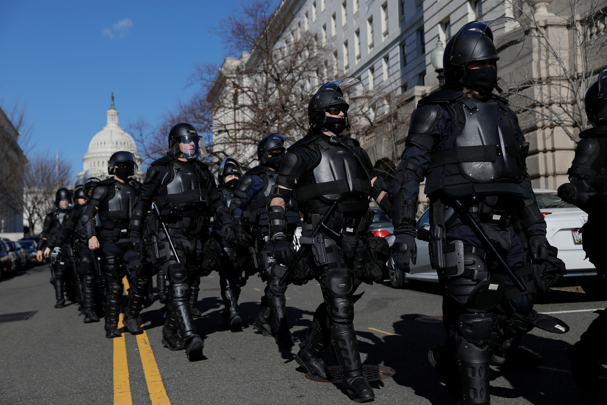 عناصر من شرطة الكابيتول (أرشيفية)