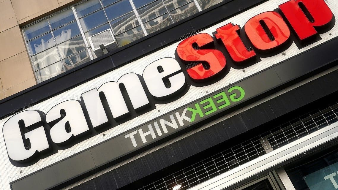 A GameStop store is pictured in the Manhattan borough of New York City, New York. (Reuters)