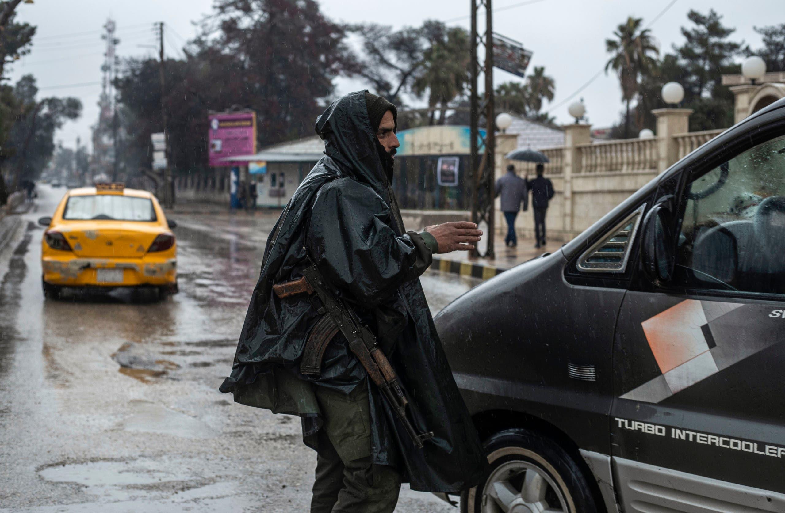عضو SDF در کامیشلی (بایگانی - مطبوعات فرانسه)