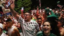 Palmeiras fans gather to celebrate Copa Libertadores win