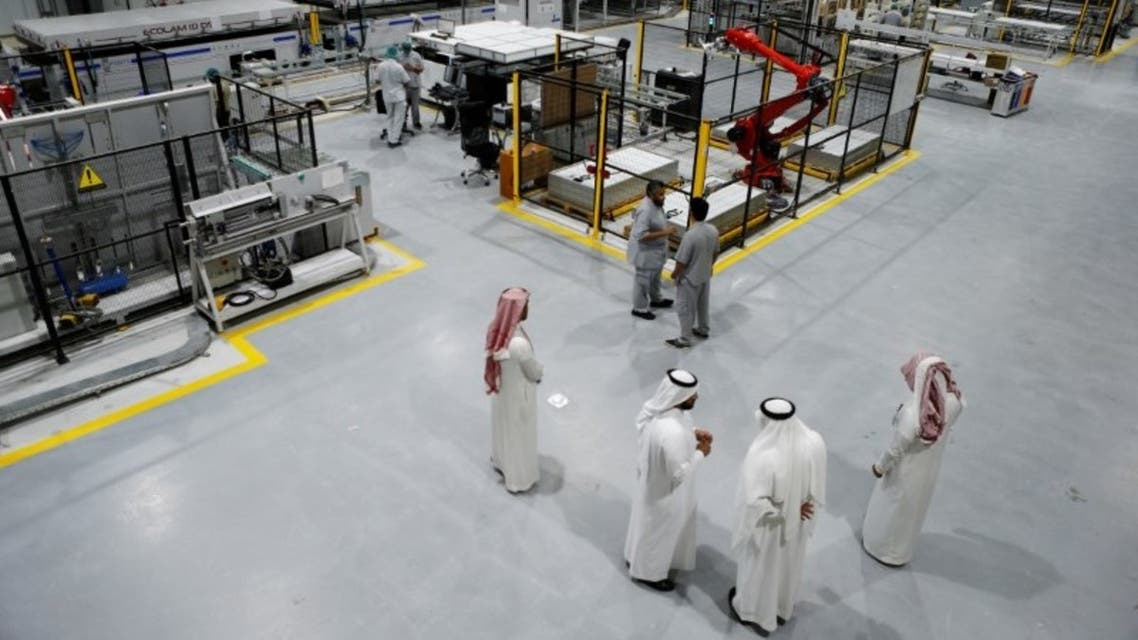 مصنع في السعودية