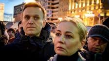 Wife of jailed Kremlin critic Alexei Navalny lands in Germany