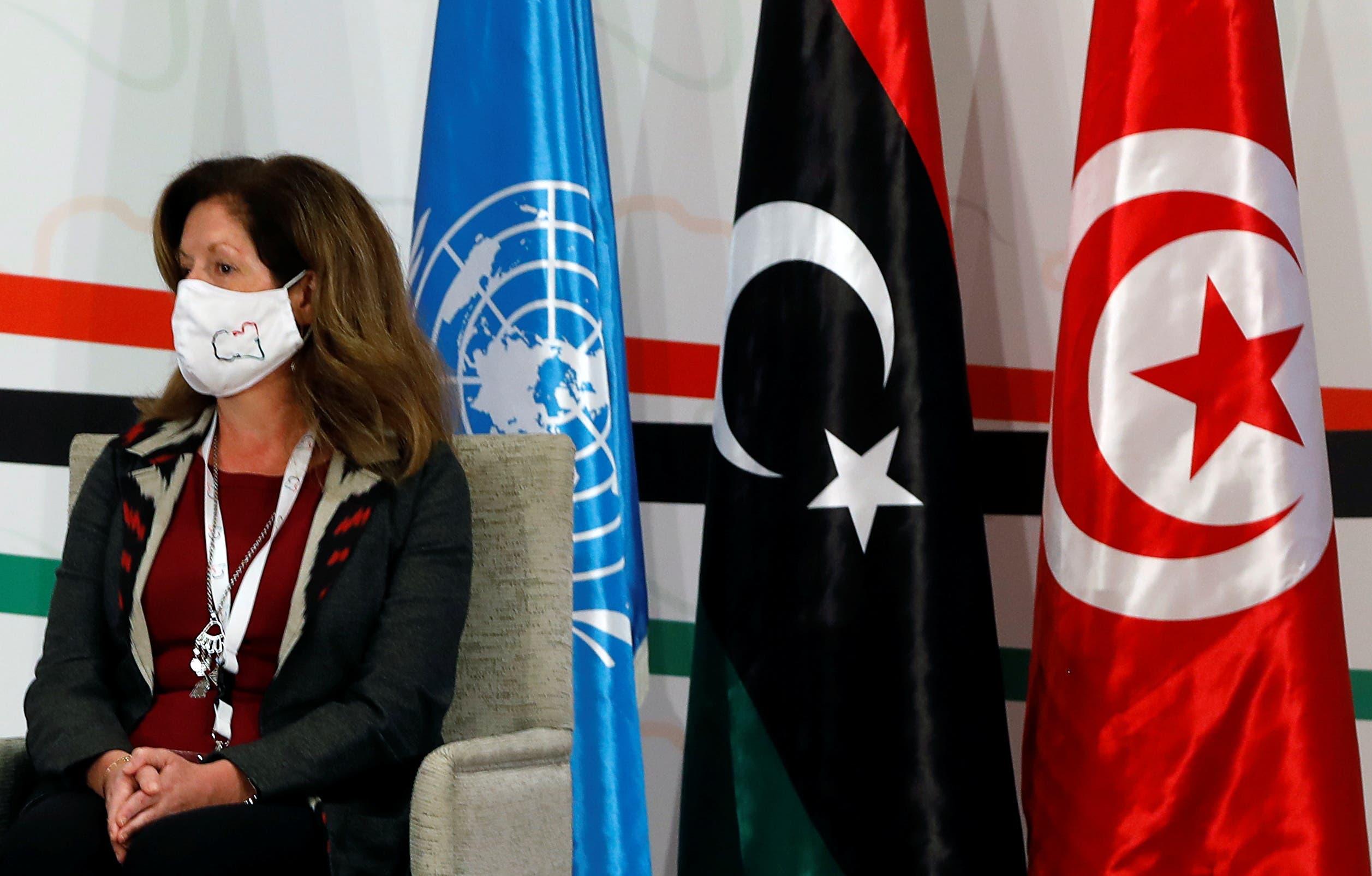 الممثلة الخاصة السابقة للأمين العام للأمم المتحدة في ليبيا بالإنابة، ستيفاني وليامز (أرشيفية- رويترز)