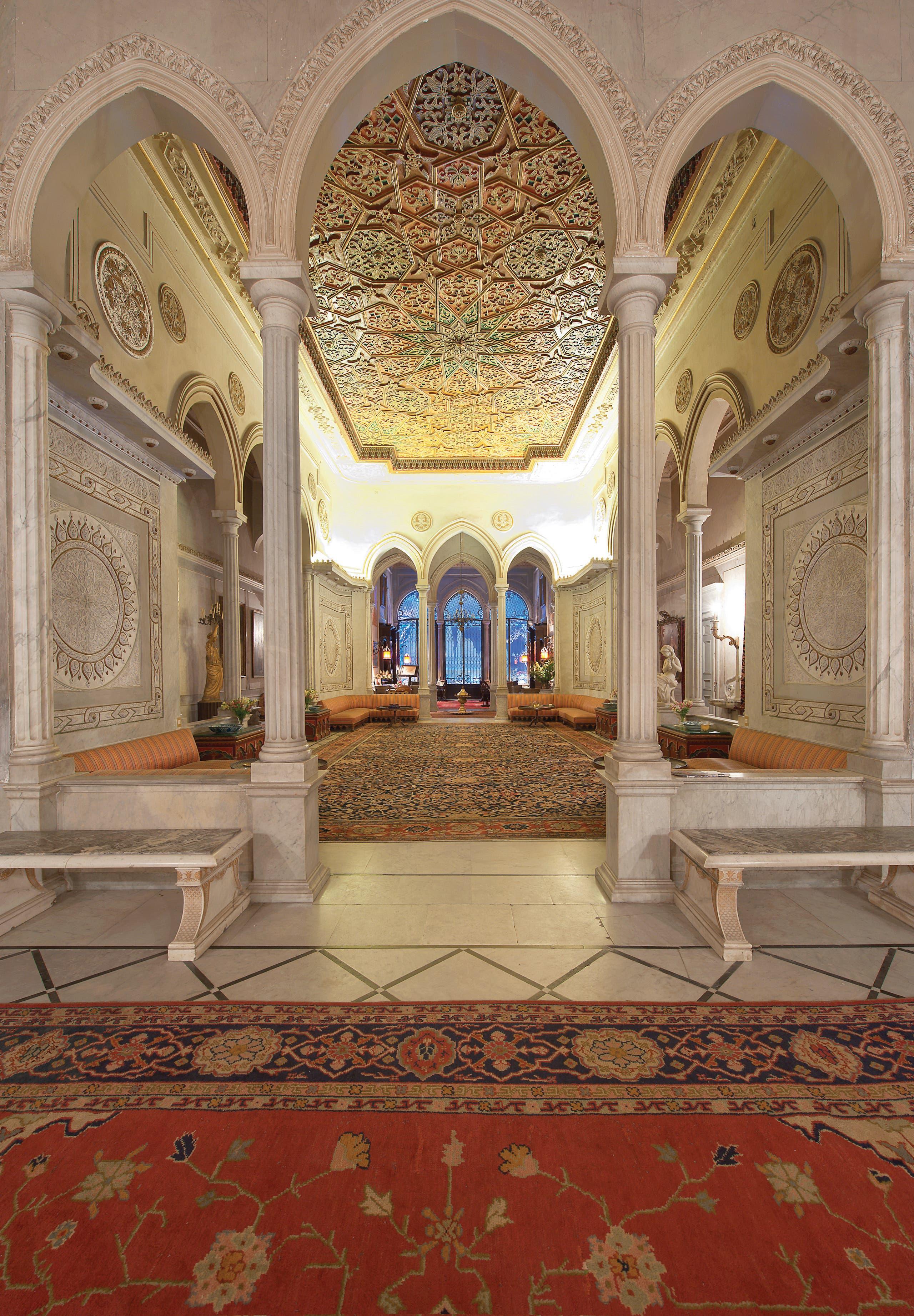Sursock Palace's main hall, taken before the blast in 2010 (File photo: Ferrante Ferranti)