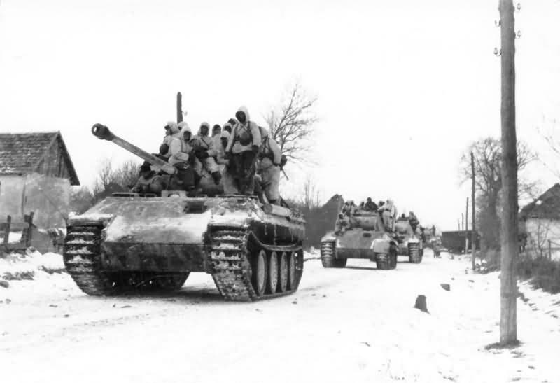 جانب من الجنود الألمان على الجبهة الشرقية