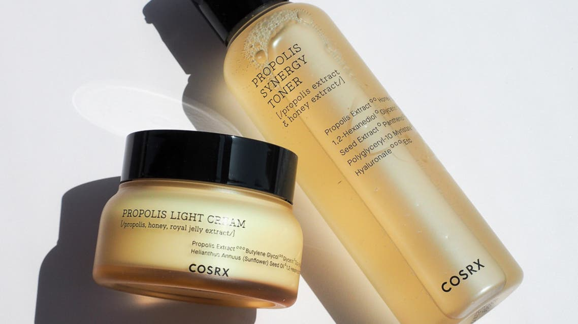 CosRX Propolis Synergy Toner adn Light Cream is one of the products offered by UAE ethical cosmetics e-retailer, Powder (Supplied by Powder)
