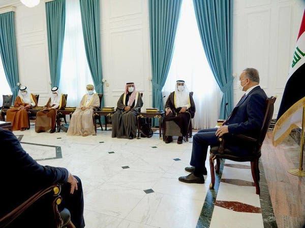 الكاظمي: نسعى لتمتين العلاقات مع دول مجلس التعاون