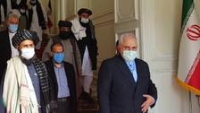 طالبان کے وفد کا دورہ ایران، وزیر خارجہ جواد ظریف سے ملاقات